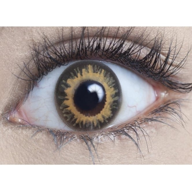MesmerEyez Natural 1 Day Coloured Contact Lenses - Coco Brown - Natural Blendz (1 Pair)
