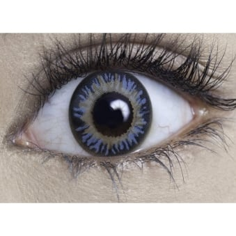 Natural 1 day Coloured Contact Lenses - Diamond Blue (1 Pair)