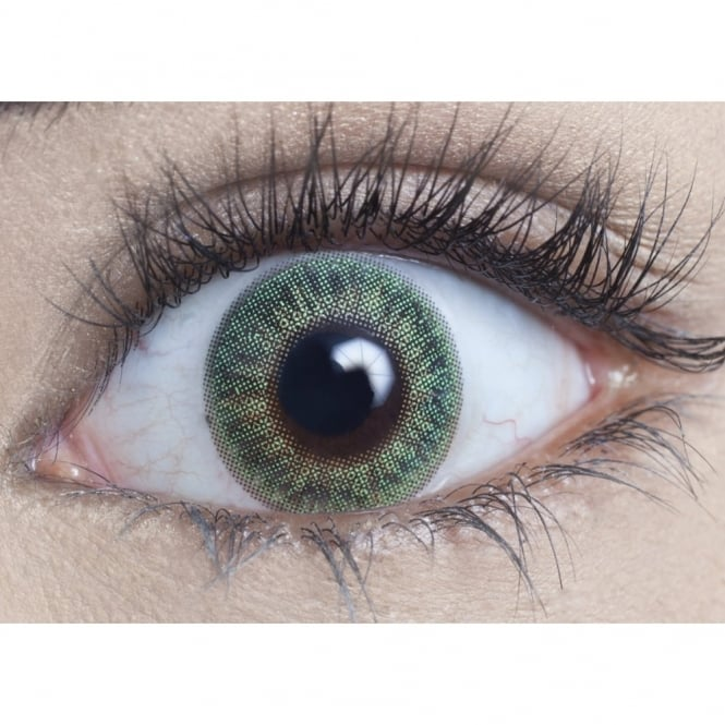 MesmerEyez Natural 1 Day Coloured Contact Lenses - Emerald Green - Naturalz (1 Pair)