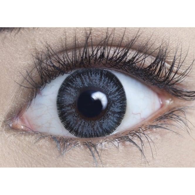 MesmerEyez Natural 1 Day Coloured Contact Lenses - Grey - Naturalz (1 Pair)