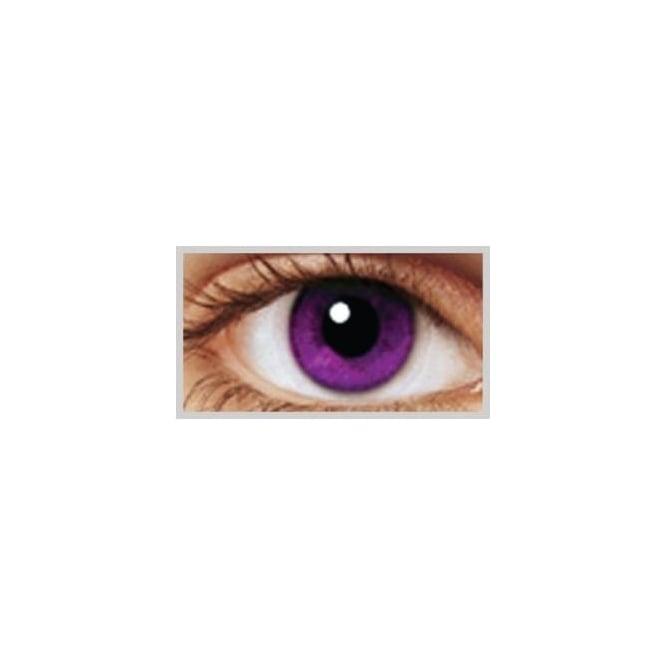 MesmerEyez Natural 1 Day Coloured Contact Lenses - Indigo - Illusionz (1 Pair)