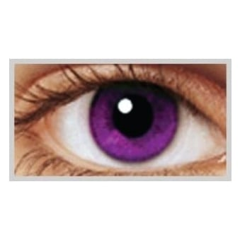 Natural 1 Day Coloured Contact Lenses - Indigo - Illusionz (1 Pair)