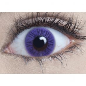 Natural 1 Day Coloured Contact Lenses - Lavender (1 Pair)