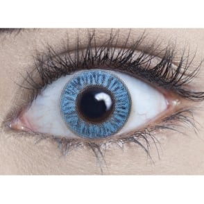 Natural 1 Day Coloured Contact Lenses - Sapphire Blue - Naturalz (1 Pair)