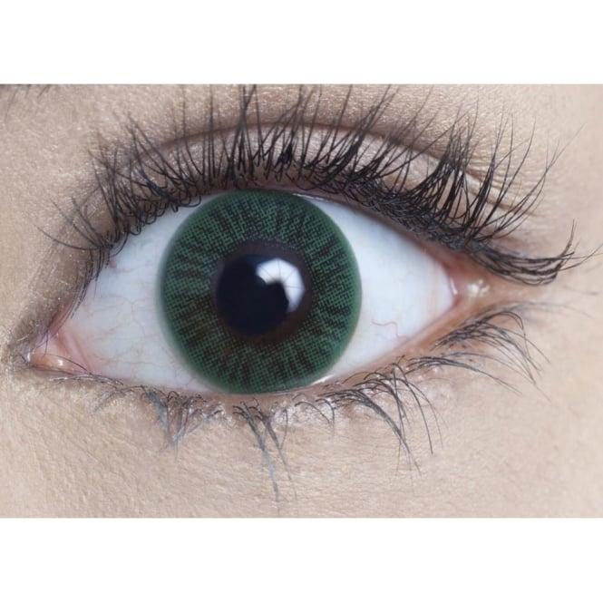 MesmerEyez Natural 1 Day Coloured Contact Lenses - Sea Green - Naturalz (1 Pair)