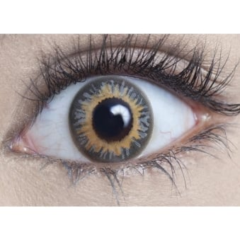 Natural 1 Day Coloured Contact Lenses - Smokey Grey (1 Pair)