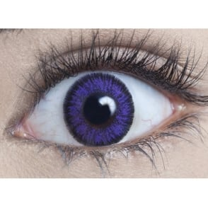 Natural 1 Day Coloured Contact Lenses - Violet - Naturalz (1 Pair)