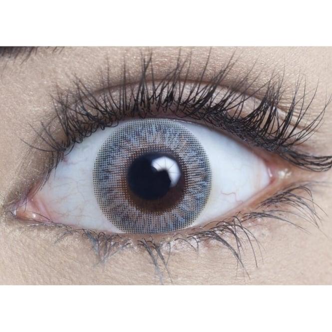 MesmerEyez Natural Coloured Contact Lenses Blendz - Cool Grey (Usage:1,3,12 Months - 1 Pair)