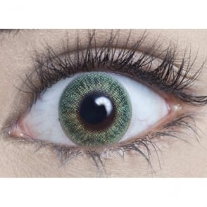 Natural Coloured Contact Lenses Blendz - Emerald Green (Usage:1,3,12 Months - 1 Pair)