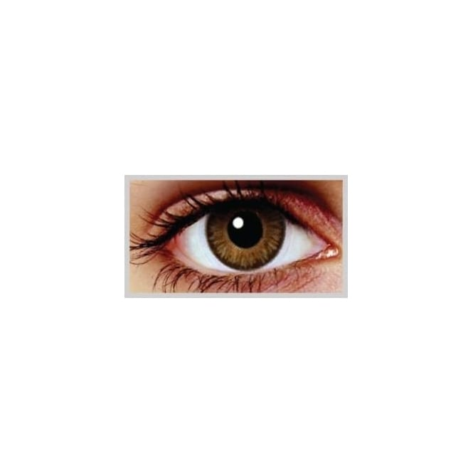 MesmerEyez Natural Coloured Contact Lenses Blendz - Oak Brown (Usage:1,3,12 Months - 1 Pair)