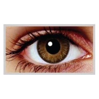 Natural Coloured Contact Lenses Blendz - Oak Brown (Usage:1,3,12 Months - 1 Pair)