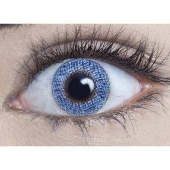 Natural Coloured Contact Lenses Blendz - Topaz Blue (Usage:1,3,12 Months - 1 Pair)