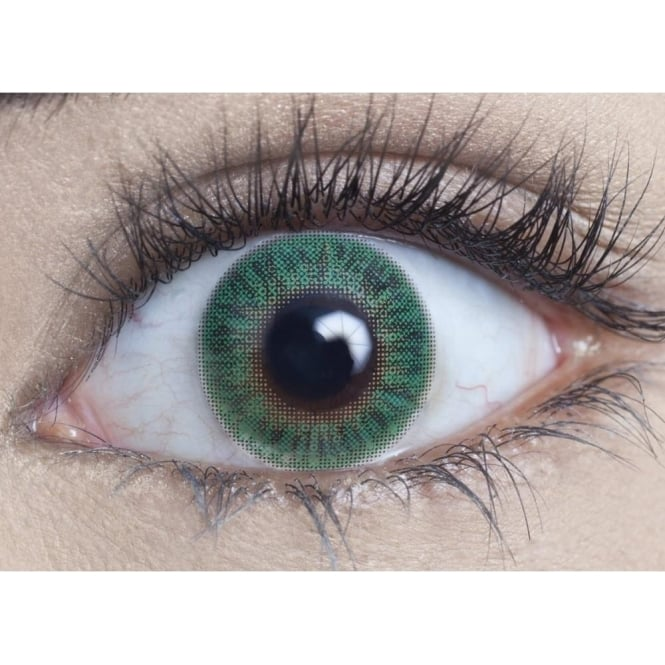 MesmerEyez Natural Coloured Contact Lenses Blendz - Turquoise (Usage:1,3,12 Months - 1 Pair)
