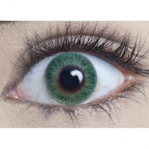 Natural Coloured Contact Lenses Blendz - Turquoise (Usage:1,3,12 Months - 1 Pair)