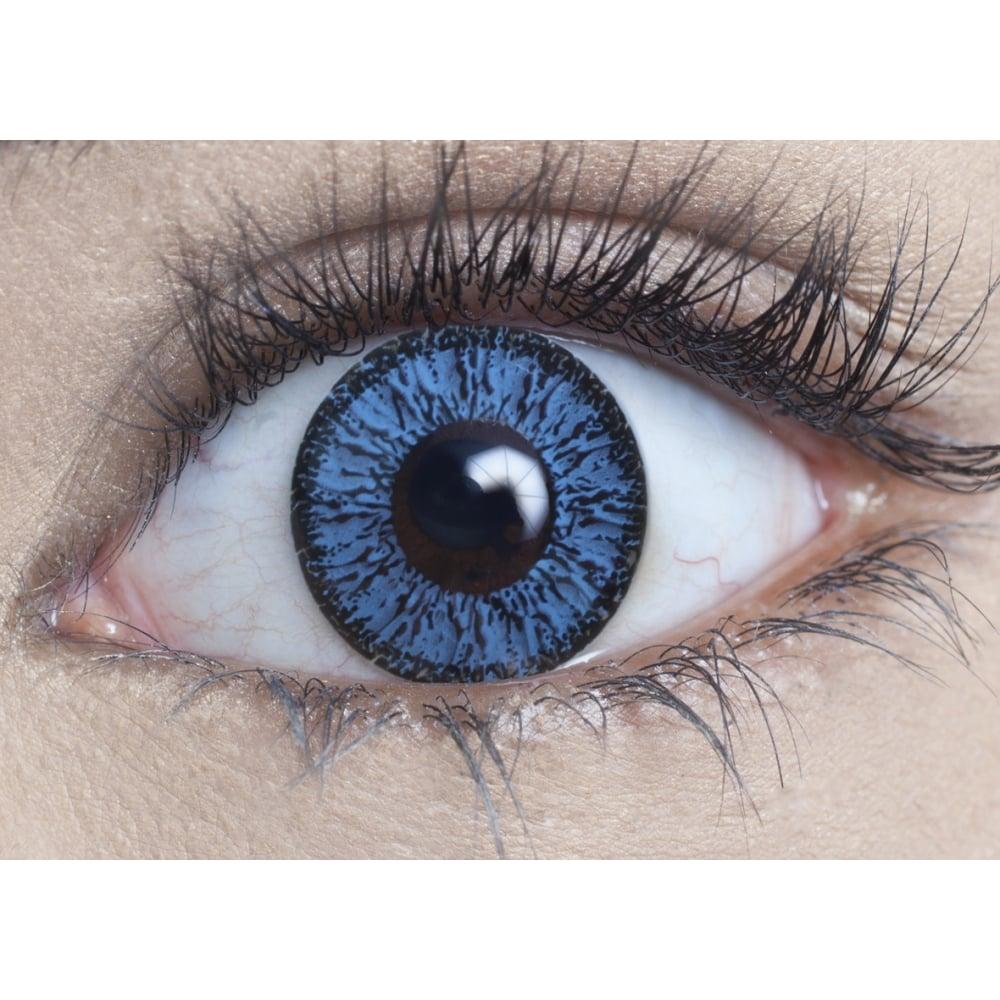9d9fd763f97 Natural Coloured Contact Lenses Illusionz - Aqua Blue (Usage 1