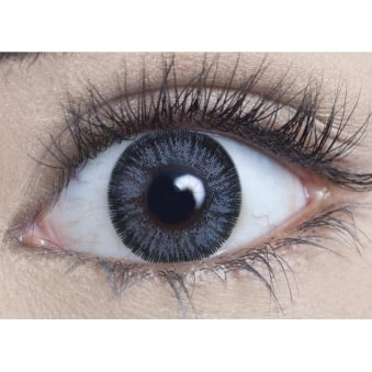 Natural Coloured Contact Lenses Illusionz - Grey (Usage:1,3,12 Months - 1 Pair)