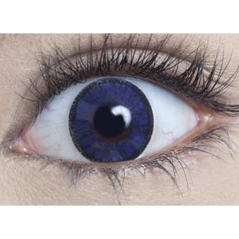 Natural Coloured Contact Lenses Illusionz - Royal Blue (Usage:1,3,12 Months - 1 Pair)