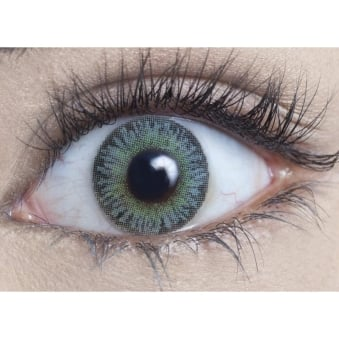 Natural Coloured Contact Lenses Infusionz - Amazon Green (Usage:1,3,12 Months - 1 Pair)