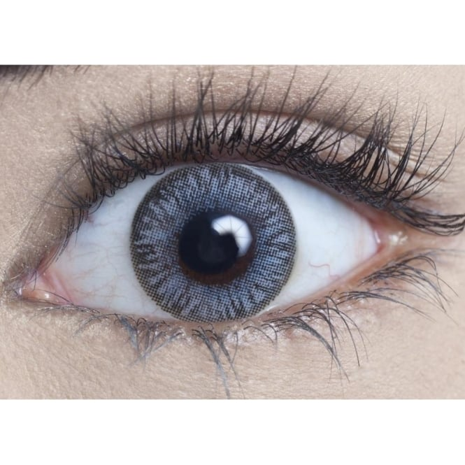 MesmerEyez Natural Coloured Contact Lenses Infusionz - Blue Slate (Usage:1,3,12 Months - 1 Pair)
