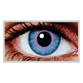 Natural Coloured Contact Lenses Infusionz - Indigo Sky (Usage:1,3,12 Months - 1 Pair)