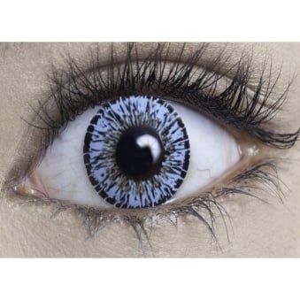 Natural Coloured Contact Lenses Intense - Eden Blue (Usage:1,3,12 Months - 1 Pair)