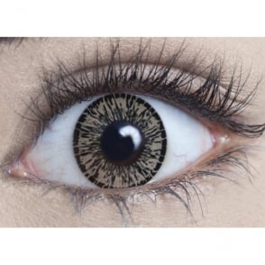 Natural Coloured Contact Lenses Intense - Forest Hazel (Usage:1,3,12 Months - 1 Pair)