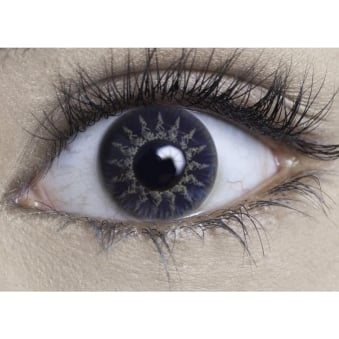 Natural Coloured Contact Lenses Intense - Midnight Blue (Usage:1,3,12 Months - 1 Pair)