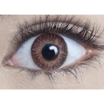 Natural Coloured Contact Lenses Natural Blendz - Golden Brown (Usage:1,3,12 Months - 1 Pair)