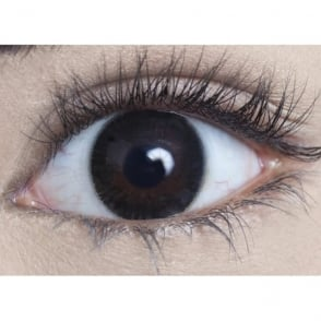 Natural Coloured Contact Lenses - Velvet Grey (Usage:1,3,12 Months - 1 Pair)