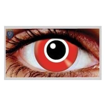 Fancy Dress Halloween Contact Lenses - Assasin (Usage:1,3,12 Months - 1 Pair)