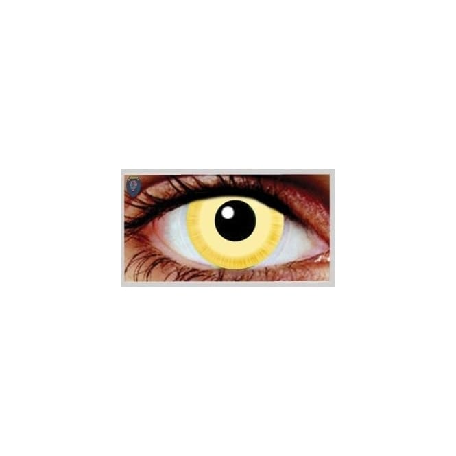 Mesmereyez Xtreme Fancy Dress Halloween Contact Lenses - Avatar (Usage:1,3,12 Months - 1 Pair)