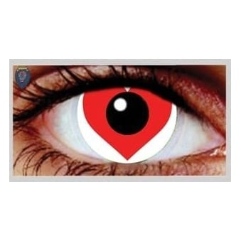 Fancy Dress Halloween Contact Lenses - Cupid (Usage:1,3,12 Months - 1 Pair)