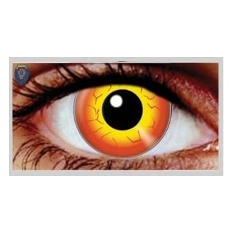 Fancy Dress Halloween Contact Lenses - Darth Maul (Usage:1,3,12 Months - 1 Pair)