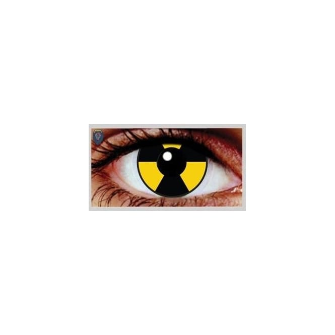 Mesmereyez Xtreme Fancy Dress Halloween Contact Lenses - Gamma (Usage:1,3,12 Months - 1 Pair)