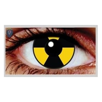 Fancy Dress Halloween Contact Lenses - Gamma (Usage:1,3,12 Months - 1 Pair)