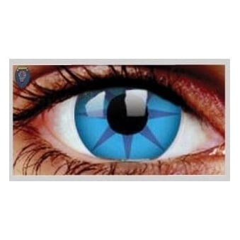 Fancy Dress Halloween Contact Lenses - Ice Fire (Usage:1,3,12 Months - 1 Pair)