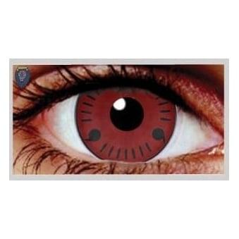 Fancy Dress Halloween Contact Lenses - Itachi (Usage:1,3,12 Months - 1 Pair)