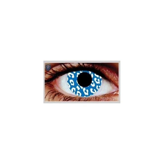 Mesmereyez Xtreme Fancy Dress Halloween Contact Lenses - Jungle Fever (Usage:1,3,12 Months - 1 Pair)