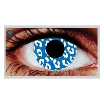 Fancy Dress Halloween Contact Lenses - Jungle Fever (Usage:1,3,12 Months - 1 Pair)