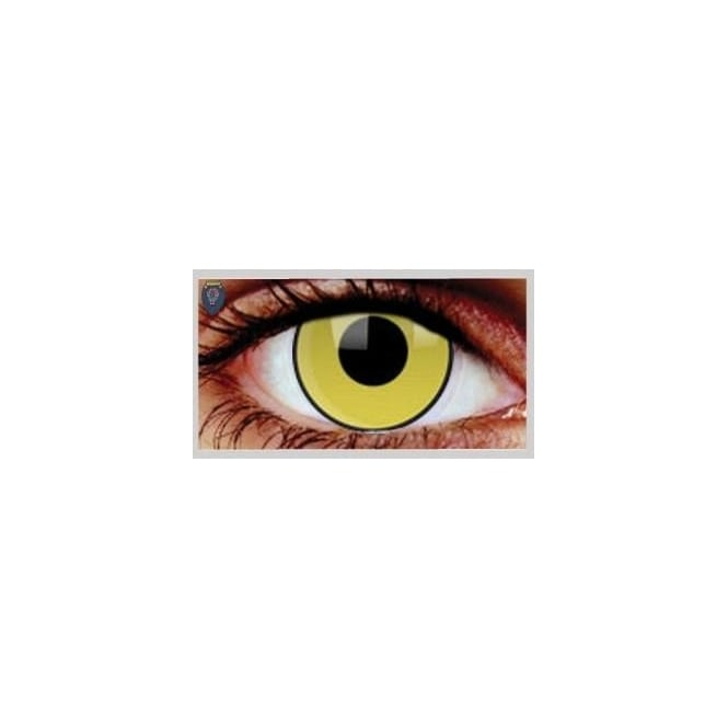 Mesmereyez Xtreme Fancy Dress Halloween Contact Lenses - Mad Hatter (Usage:1,3,12 Months - 1 Pair)