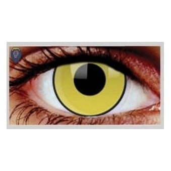 Fancy Dress Halloween Contact Lenses - Mad Hatter (Usage:1,3,12 Months - 1 Pair)