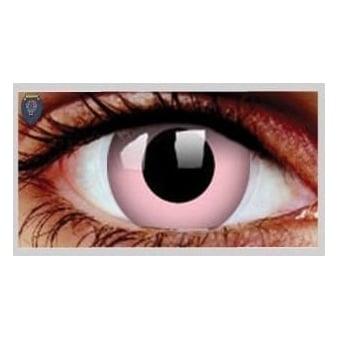 Fancy Dress Halloween Contact Lenses - Pink (Usage:1,3,12 Months - 1 Pair)
