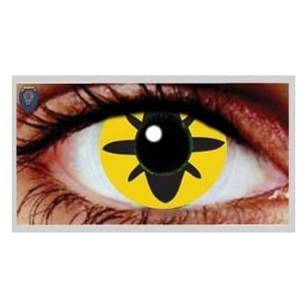 Fancy Dress Halloween Contact Lenses - Roach (Usage:1,3,12 Months - 1 Pair)