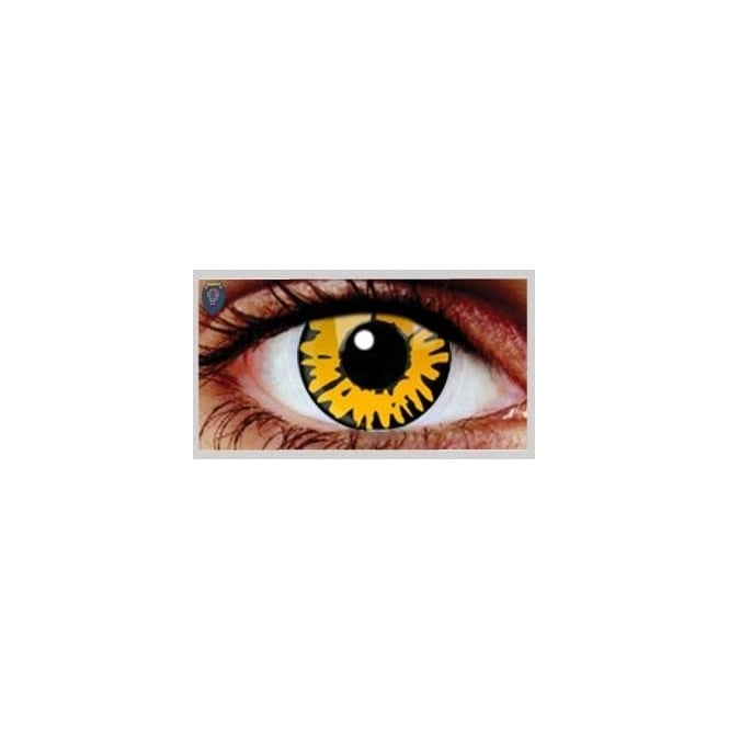 Mesmereyez Xtreme Fancy Dress Halloween Contact Lenses - Twilight New Moon UV (Usage:1,3,12 Months - 1 Pair)