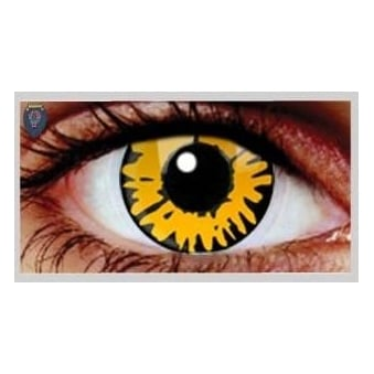 Fancy Dress Halloween Contact Lenses - Twilight New Moon UV (Usage:1,3,12 Months - 1 Pair)