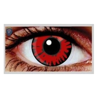 Fancy Dress Halloween Contact Lenses - Twilight Volturi Vampire (Usage:1,3,12 Months - 1 Pair)