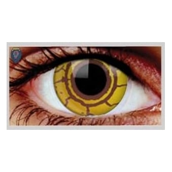 Fancy Dress Halloween Contact Lenses - Virus (Usage:1,3,12 Months - 1 Pair)