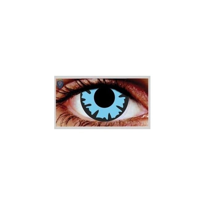Mesmereyez Xtreme Fancy Dress Halloween Contact Lenses - Wizard (Usage:1,3,12 Months - 1 Pair)