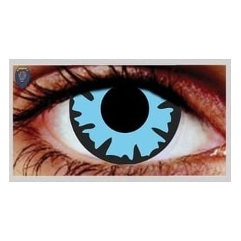 Fancy Dress Halloween Contact Lenses - Wizard (Usage:1,3,12 Months - 1 Pair)