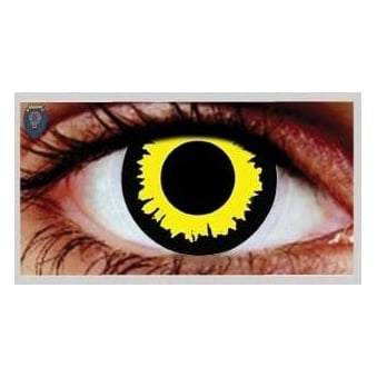 Fancy Dress Halloween Contact Lenses - Wolf (Usage:1,3,12 Months - 1 Pair)